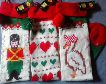Christmas Stockings, Set of 3