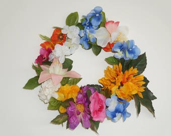 "9"" Summer Wreath"