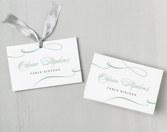 Place Card Templates For Mac Geccetackletartsco - Escort card template