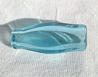 Glass Filter Tip Cigarette Holder, Ice Blue Raindrop All American Glass