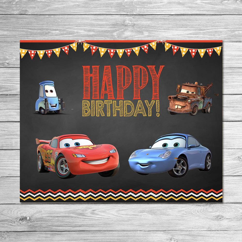 disney cars birthday party printables Kaysmakehaukco
