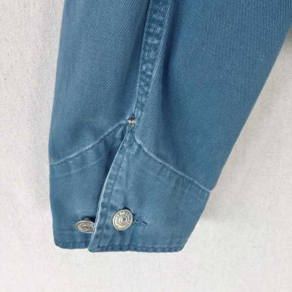Jacket with Polo Lauren 90s USA Made Dungarees Blue Collar Cotton French Corduroy in Country Ralph Vintage Canvas qPA1Uq