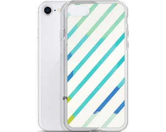 Graphic Lines iPhone Case