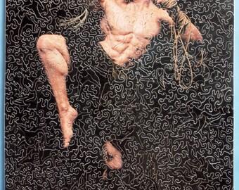 Muaj boran fighter (wooden jigsaw puzzle)