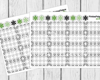 Soccer Planner Stickers Half Box Planner Stickers Quantity 16 eclp PS15i
