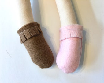 MOCCASINS for your Ellie and Fern doll