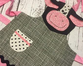 Millie moo apron