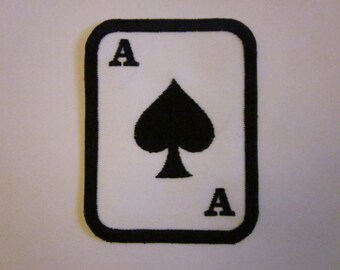 ace of spades Iron on patch