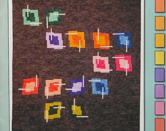 Quilt Pattern - Chopstix by Jennifer Houlden