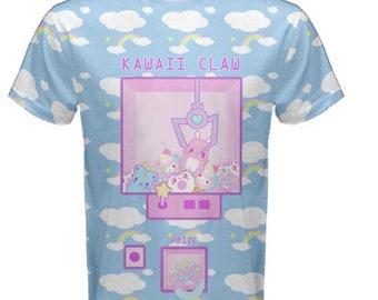 K.G. Claw Machine  Shirt, Yume Kawaii Rainbow Clouds Claw Machine