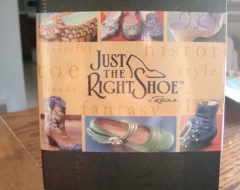 Just the Right Shoe Frosted Fantasy Raine Willetts Design