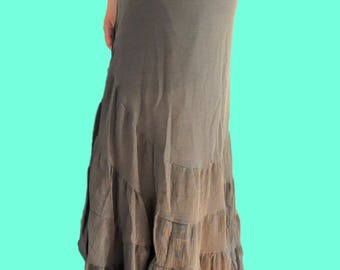 Flamenco Wrap Maxi Skirt