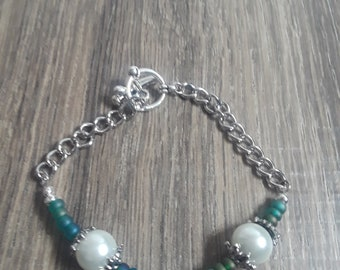 Midnight Bride bracelet