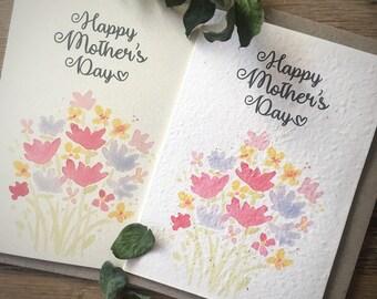 Plantable Mother's Day Card +  bath salt