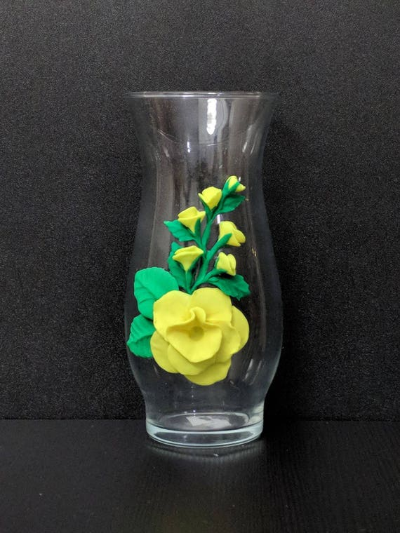 65 Decorative Vase Yellow