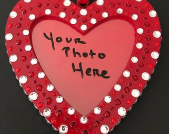 Stunning Heart-Shaped Frame for your Valentine!