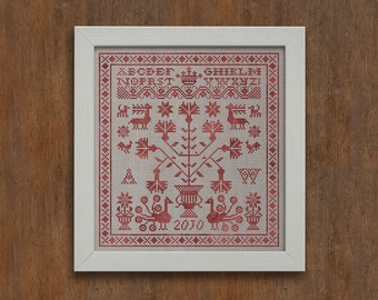 Letters from the North, No. 4 - Instant Download PDF Pattern