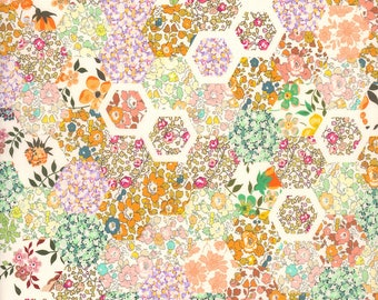 Liberty Tana Lawn, PATCHWORK STORIES C, SS18 A Pocket Full of Memories, buy by the fat quarter or metre