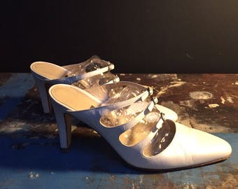 Pearl Colored Bally Shoes