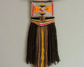 Woven wall hanging - Weaving - Wall Hanging - Bohemian