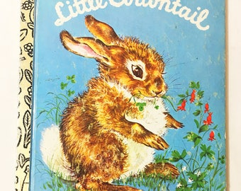 Little Cottontail book circa 1980.  Little Golden Book.  Carl Memling.  Lilian Obligado.  Mice.  Rabbit.  Bunny.  Vintage  Children's Book.