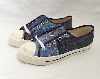 kids scottie patchwork sneaker size 2.5