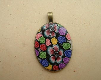 40 * 30 MM PENDANT IS HAND - MOLDED CAMEO