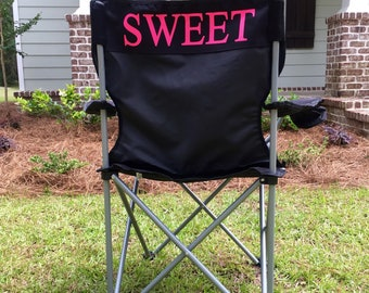 Custom folding chairs, Monogrammed Camping Chair, Personalized Gifts, Monogrammed Folding Chair, Bag Chair, Custom Camping Chair