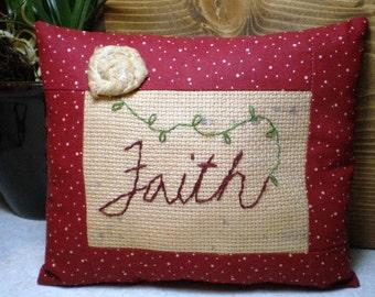Pillow - Decorative - Faith