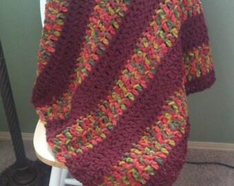 Chunky Crochet Throw. Crochet Afghan. Crochet Throw Blanket. Chunky Afghan. Crochet Blanket. Cozy Throw Blanket. Crochet Throw. Modern Throw