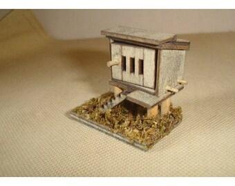 Miniature Wooden Chicken Coop*/Minis/Supplies*
