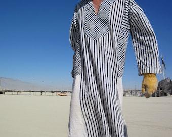 Desert Caftan, Kaftan, Tunic, MuuMuu, Galabia for Man or Woman, OOAK, festival clothing - Custom Order