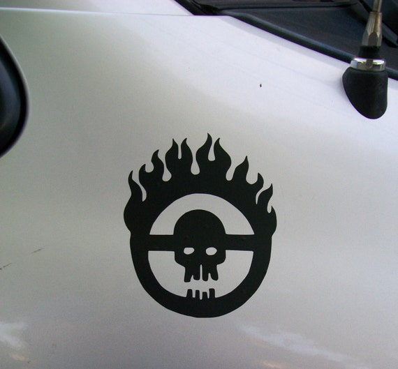 Fury road citadel immortan joe vinyl decal sticker