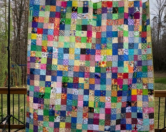 Spring Colors Quilts - Queen Quilts - Traditional Quilts - FREE Shipping to US - 2