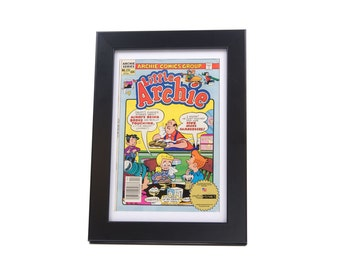 Comic Book Frame - Display your Vintage Comic Book Art in Colorful Frames Creating Your Perfect Mancave or Childrens Wall Collage