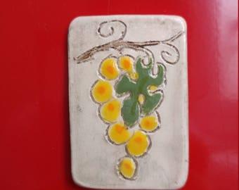 Magnet ceramic grape