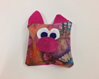 Pig - Boo Boo bag friend - boo boo bag - cold pack - hot pack - pink pig
