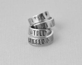 Aluminum wrap ring / Tree hugger ring