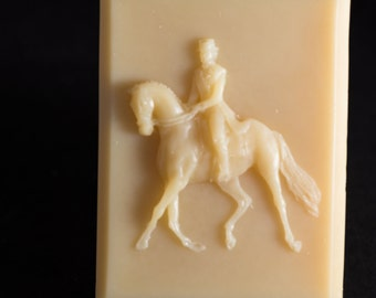 Whisper - 100% natural soap of dressage horse and rider.