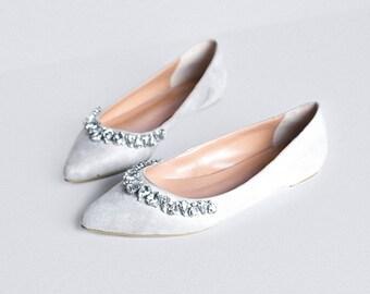 Catherine H - Olivia Pointed Toe Flats