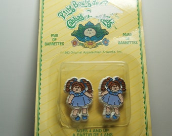 Cabbage Patch Doll Barrettes