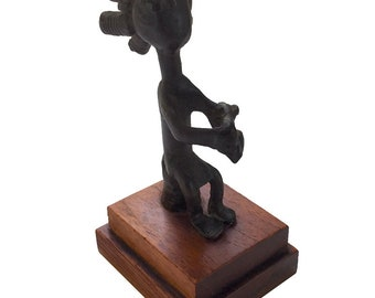 Alva Museum Replicas Miniature African Sculpture / Alva Studios Mini Art Sculpture Reproduction / Miniature Replica African Sculpture