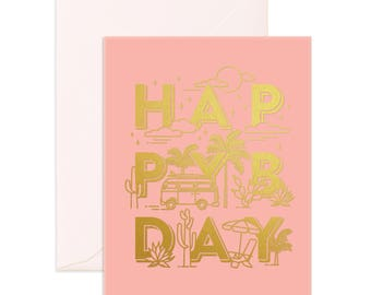 Happy BDAY Greeting Card