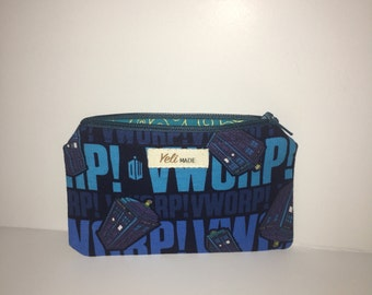Doctor Who Coin Purse- Tardis Bag