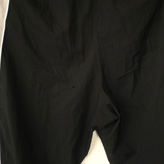 multicolours black Vintage 90s KAPPA trackpants white gray ribbon Rare side tape aBUwYqY