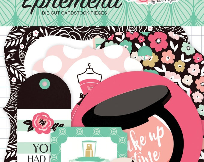 Fashionista ephemera pack