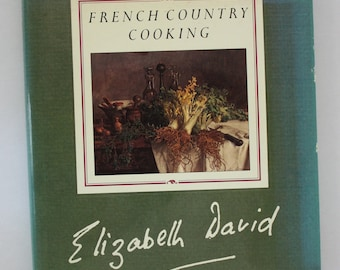 A signed limited edition hardback of French Country Cooking by Elizabeth David