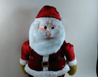 Jingle Bell Santa/Move Side To Side At The Tune Of Jingle Bell/Uses 3 Double A Batteries/In Great Condition (X)