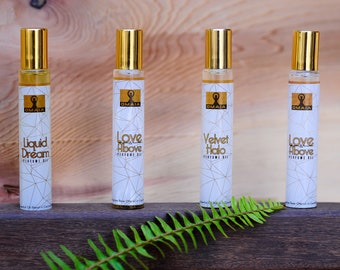 Aphrodisiac Essential Oil Perfume, Ylang Ylang blend, Roll on, Natural fragrance, Aromatherapy blend, Feminine, Gift for Her