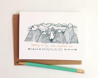 Asheville NC Card